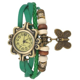 Paris Other Dial Green Other Strap Watch for Women