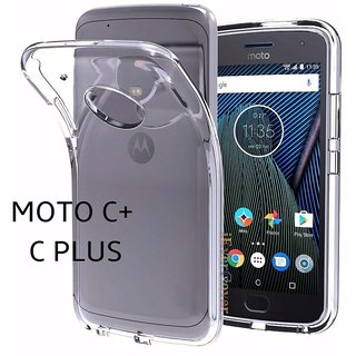 MOTO C+  ( MOTO C PLUS ) Transparent Soft back cover case
