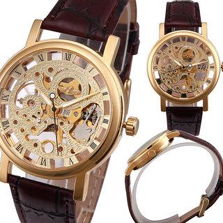 i DIVA'S SUPER fast selling transparent gold steel watch