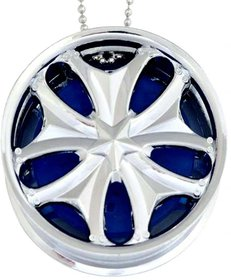 CAR Hanging Alloy Wheel Type Car Perfume  Air Freshener