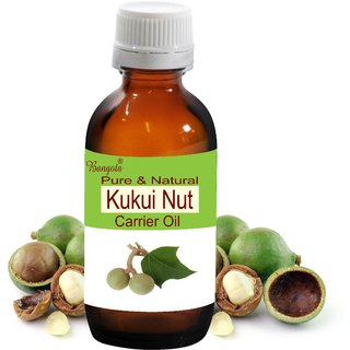 Kukui Nut Oil -  Pure & Natural  Carrier Oil (100 ml)