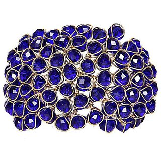 JSD Blue Crystal Bracelet for Women and Girls Size_Adjustable, Qty: 1 Eacch, Color: Blue, JSD Brand Assured you for 100% Qualitative Products. Care Instructions: Store in air tight pouches, Keep away from deodorants and perfumes.
