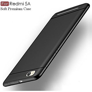 the latest 5ce2a e76b6 Redmi 5A Back Cover For Complete Protection Of Phone (Black)