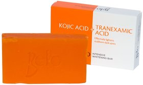 Belo Intensive Whitening Soap With Kojic Acid + Tranexamic Acid 65g (Pack Of 1)
