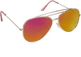 Arzonai Ultimate Multicolor Aviator Shape UV Protected Sunglasses for Men & Women (MA-904-S11)