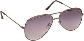 Arzonai Tebrow Black Aviator Shape UV Protected Sunglasses for Men & Women (MA-902-S2)
