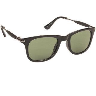 Arzonai Stone Boss Green Wayfarer Shape UV Protected Sunglasses for Men & Women (MA-038-S4)