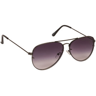 Arzonai Classics Black Aviator Shape UV Protected Sunglasses for Men & Women (MA-1000-S2)
