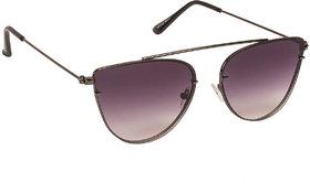 Arzonai Beautiful Black Cat Eyes Shape UV Protected Sunglasses for Women's (MA-5558-S2)