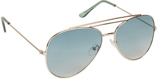 a0542c86927 Arzonai Ultimate Green Aviator Shape UV Protected Sunglasses for Men   Women  (MA-904