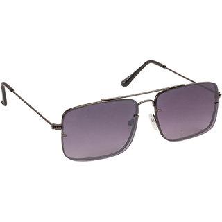 d340b8b3ed Arzonai Regent Black Square Shape UV Protected Sunglasses for Men   Women ( MA-6666