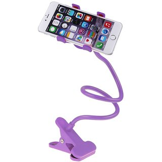 Lazy Mobile Stand Move 360 Degree Violet