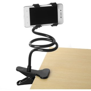 Long Lazy Stand Black 360 Degree Moveable