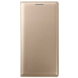 check out 93ea2 5af39 Oppo A37F Flip Cover by ClickAway - Golden