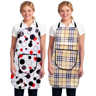 KITCHEN APRON WATERPROOF SET OF 2