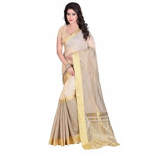 Ethnic Mall Chanderi Cotton Silk Saree/Sari