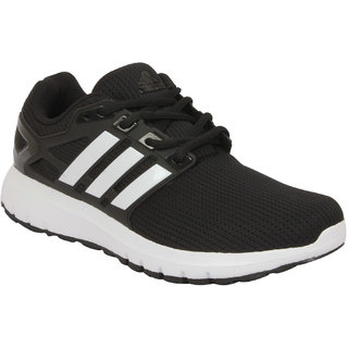 reputable site 2ab59 b6dce Buy Adidas Energy Cloud Wtc M Black Men S Running Shoes Online - Get 26% Off