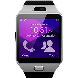 New DZ09 Smart Watch For All Smart Phone With Multi Funtion (Silver)