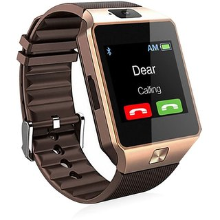 New Smart DZ09 Smart Gadgest For All Smart Phone (Brown)