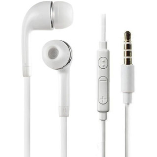 KSJ J5 Universal in ear Eearphone with mic - White