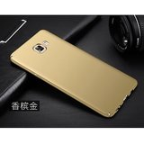 Samsung Galaxy J7 Max Rubberized Hard Matte ipaky back Case Cover...(Gold)