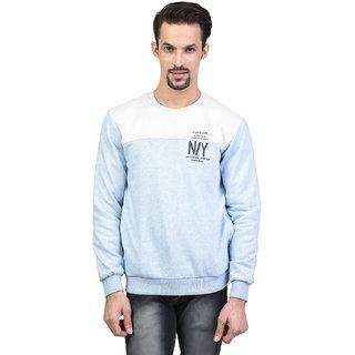 Octave Men's Sky Melange Sweatshirt