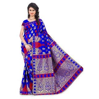 Ransh Fashion Banarasi Silk Women's Sarees For Women Latest Design