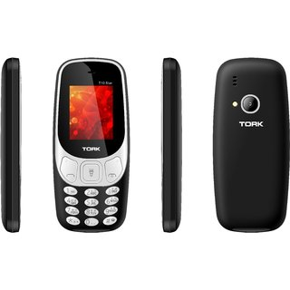 Tork T10 Star (Dual Sim, 1.8 Inch Display, Multi Language Support, Multimedia Phone, 1000 Mah Battery)