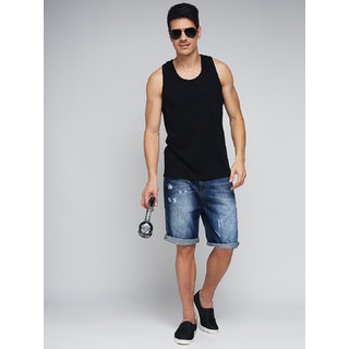 Difference of Opinion Solid Sleeveless T-shirt