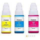 CANON GI 790 Original ink Bottle Tri Color For Canon Pixma G1000, G2000, G3000