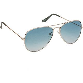 043566b5a5 Buy Arzonai Classic Silver MA-008-S10 Unisex Aviator Sunglasses ...