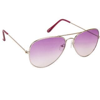 Arzonai Classic Silver MA-008-S12 Unisex Aviator Sunglasses