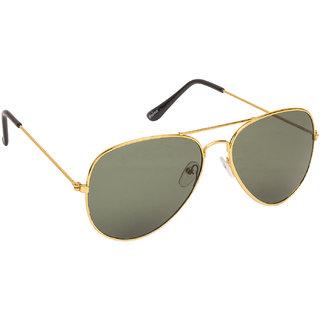Arzonai Classic Golden MA-008-S14 Unisex Aviator Sunglasses