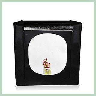 SYGA Light Box Photo Studio 40Cm x 40 cm Professional Photography Tent with  LED Lights