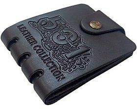 Home Fantasy  Black Pu Wallet For Men (Pu-001)