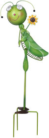 Wonderland LOCUST WITH SOLAR LIGHT made of Metal for your Balcony or Garden Decor
