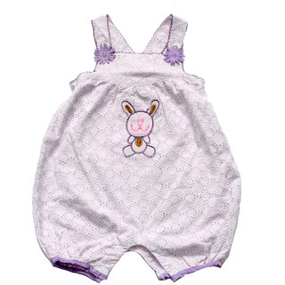 Kids dunagree baby clothing set
