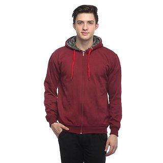 Emblazon Men's Maroon Sweatshirt