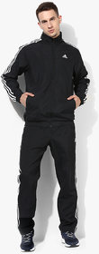 Adidas Polyester Black 3S TS Woven Tracksuit