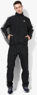 Adidas Black 3S TS Woven Tracksuit