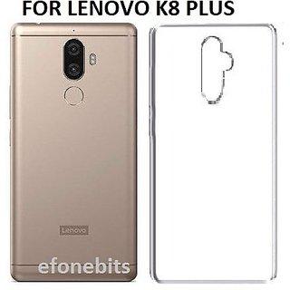 SAVIGUP LENOVO K8+ (K8 PLUS) Soft Ultra Slim Back Cover Case K8 Plus  (Transparent)