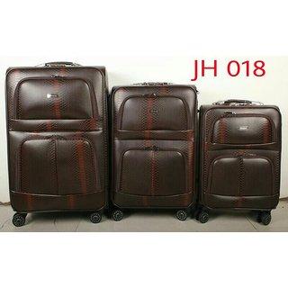 luggage trolley bag combo 3 pcs set
