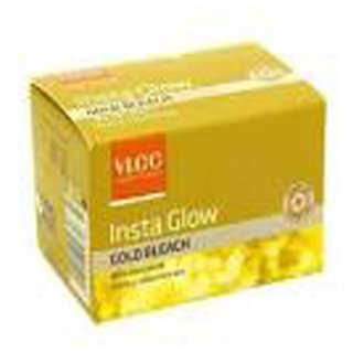 VLCC Insta Glow Gold Bleach set of 6 pc