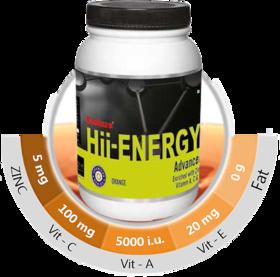 Endura Hii Energy 1 kg. Pineapple