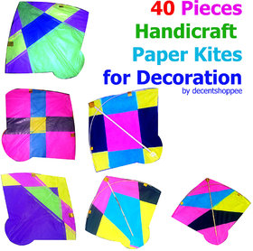 40-Pieces-Handicraft-Paper-Kites-for-Decoration-Party-Decoration     40-Pieces-Handicraft