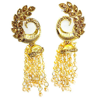 earrings shopstyle shihara gold browse xlarge yellow chain long