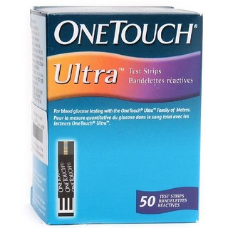 OneTouch Ultra 50(25x2) Test Strips Expiry March 2019