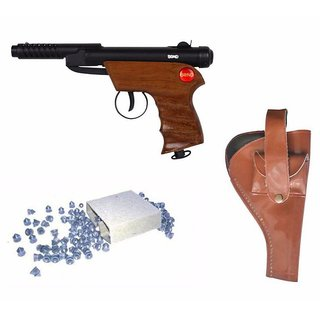 Prijam Air Gun Bsw-2 Model With Metal Body For Target Practice 100 Pellets Free