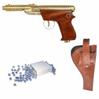 Prijam Air Gun Eg-007 Model With Metal Body For Target Practice Combo Offer 300 Pellets With Cover  Air Gun