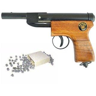 Prijam Air Gun Bbw-007 Model With Metal Body For Target Practice 100 Pellets Free